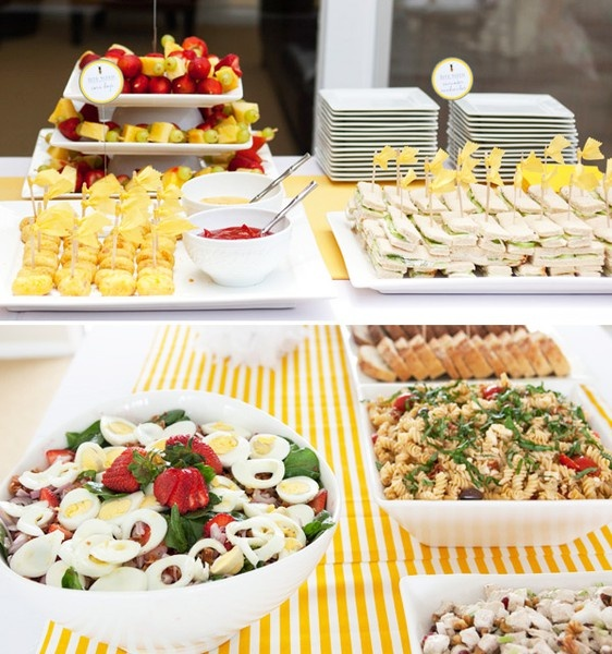Baby Shower Buffet Menu: 17 Best Ideas About Baby Party Foods On Pinterest