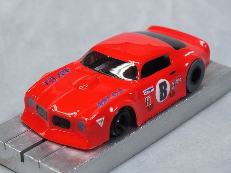 HO Slot Car Parts - Firebird Trans-Am - .010 Lexan Body Lot of 2 - w/ MASK Kits | Toys & Hobbies, Slot Cars, HO Scale | eBay!