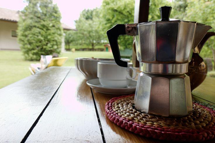 Kaffeepause zu Hause - Italienische Momente :-)