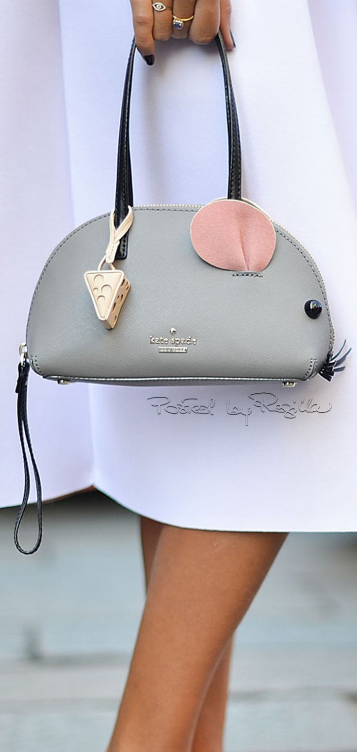 Mouse bag. Regilla ⚜ Una Fiorentina in California