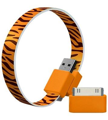 Кабель USB2.0 - microUSB с адаптером Apple 'Tiger'