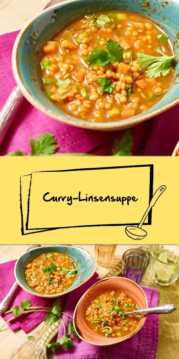 Die klassische Linsensuppe bekommt Konkurrenz: Die Curry-Linsensuppe wird mit ihrer besonderen Würze alle Suppen-Fans begeistern! Den Schärfegrad kannst du - durch verschiedene Currypasten - selbst bestimmen. Wir wünschen euch einen guten Appetit.