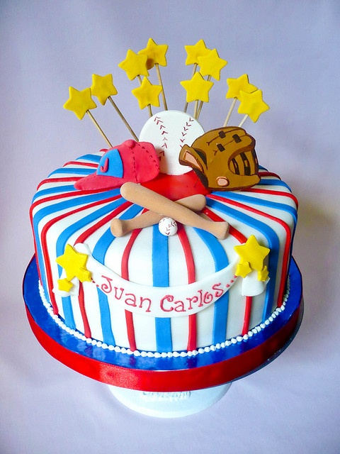 93 Best Images About Baseball Cakes On Pinterest