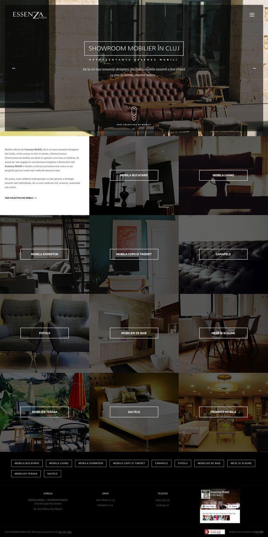 ESSENZA MOBILI - webdesign & development 2015