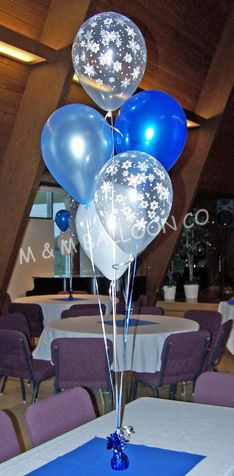 17 Best Images About Balloon Centerpieces On Pinterest