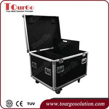 ourgo Aluminum Lighting Utility Trunks Tool Box Flight Case 31 x 38 x 25inch Caster & Stackable Caster Dish