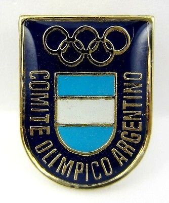 RIO BRAZIL 2016 OLYMPIC GAMES ARGENTINA NOC OFFICIAL OLYMPIC PIN
