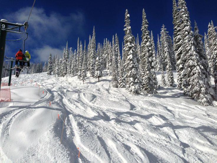 Whitewater Ski Resort Ski Area in Nelson , BC