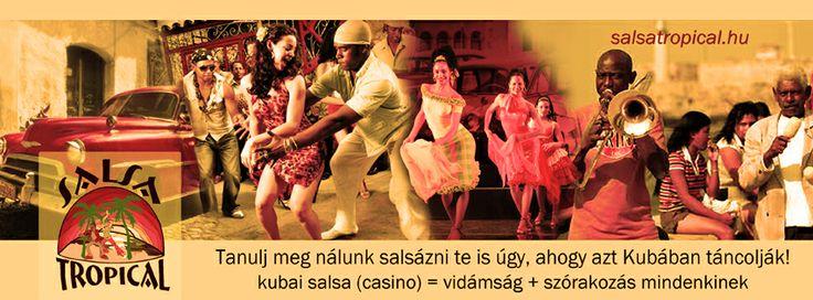 Új kezdő salsa tanfolyam indul. További infó: www.salsatropical.hu
