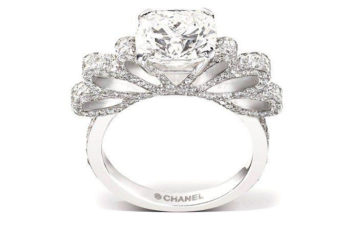 Anillo de compromiso Ruban de Chanel - Anillos de compromiso de ensueño 2012