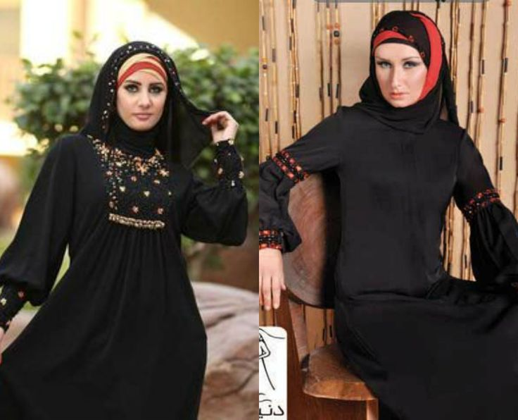 Balloon Sleeve Abaya Designs Must Inspire You – Girls Hijab Style & Hijab Fashion Ideas