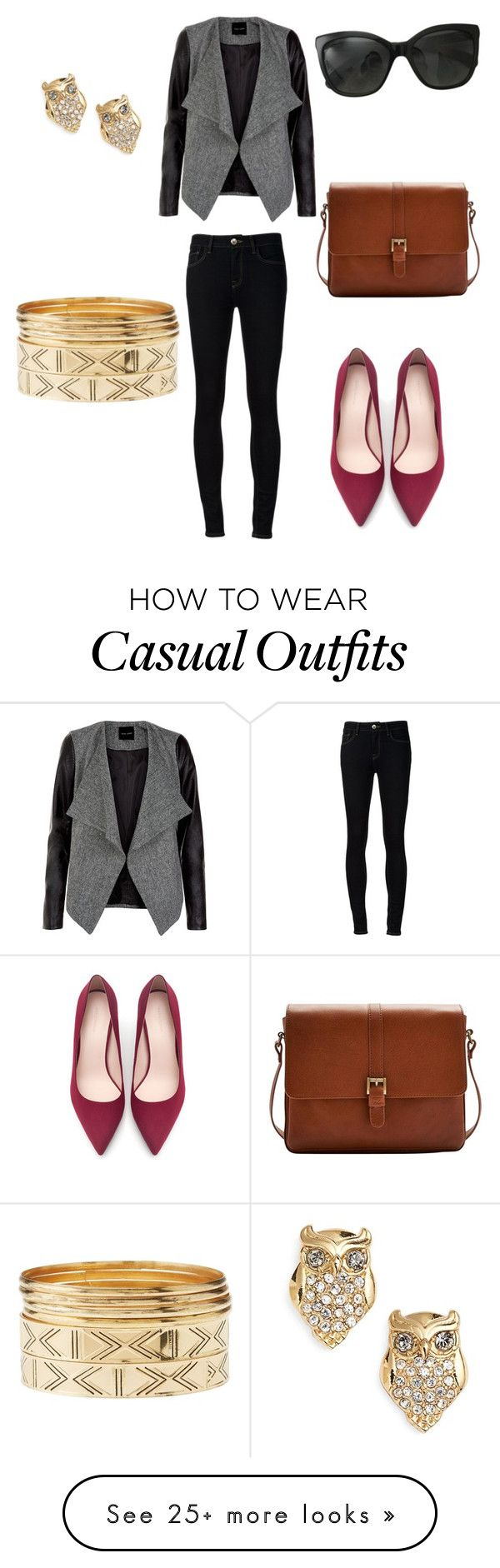 """""""outfit casual"""" by camila-alejandra-letelier on Polyvore featuring Kate Spade, Chanel, Ström, Zara, Joules and Charlotte Russe"""