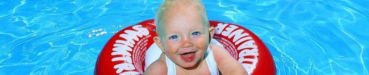 Swimtrainer - vanaf 3 maanden tot 4 jaar meteen in juiste houding om te gaan zwemmen.