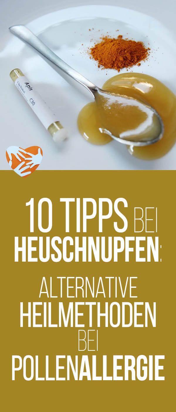 10 Tipps bei Heuschnupfen: Heilmittel bei Pollenallergie - chemiefreie Tipps aus TCM, Ayurveda, Homöopathie und Schulmedizin
