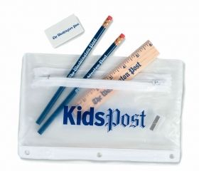 Promotional Products Ideas That Work: School kit - deluxe. Get yours at www.luscangroup.com
