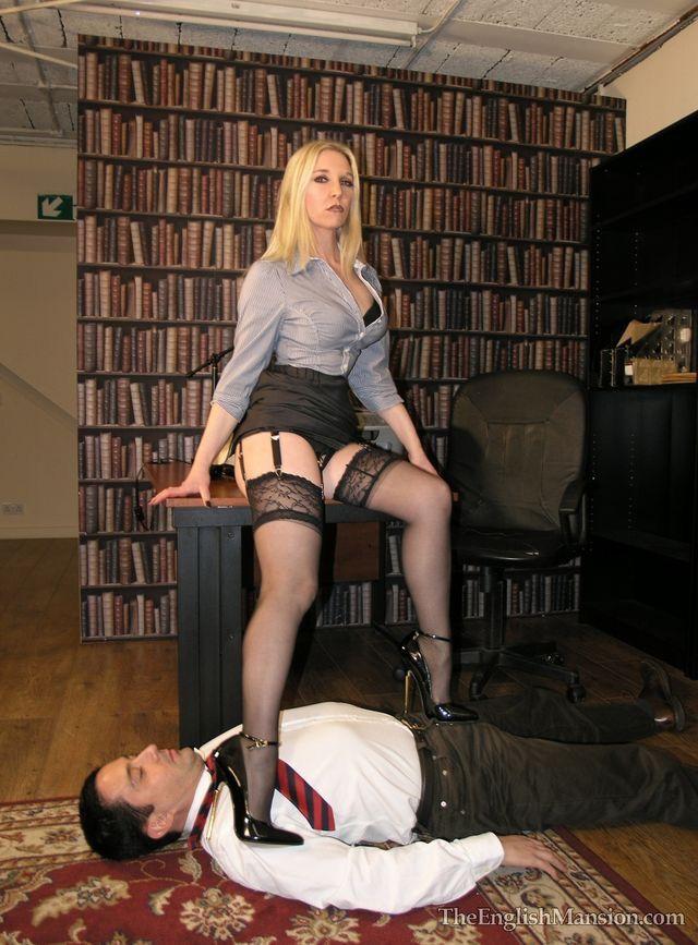slave pray to mistress penis her