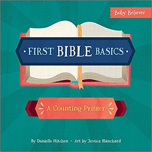 I love this! Teach young children to count while teaching them basic Bible knowledge at the same time! These books, posters and coloring books are so beautifully designed. The books and posters are done in bright colors and will capture any child's attention!  #FirstBibleBasics