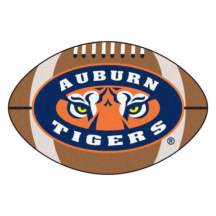 Fan Mats NCAA Collegiate Football Rug - 1.7 x 2.7 ft. - 5143