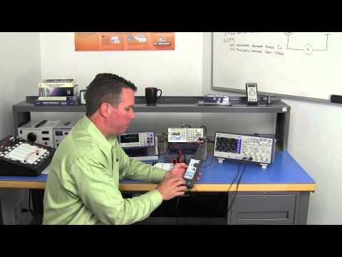 How to Simultaneously Measure Voltage & Current with a CP62 Current Clamp Probe - YouTube