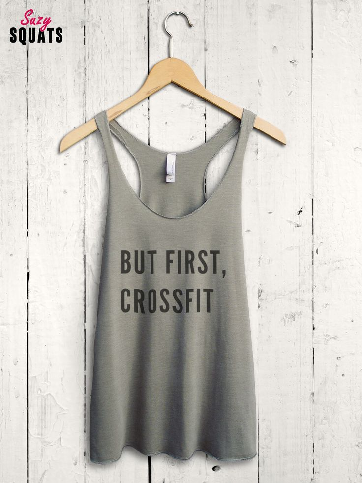 But First Crossfit Shirt - funny crossfit tank top, womens crossfit shirt, cute crossfit top, funny crossfit shirt, ladies crossfit tank by SuzySquats on Etsy https://www.etsy.com/listing/270871593/but-first-crossfit-shirt-funny-crossfit