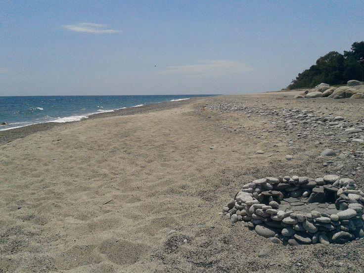 La costa tra Santa Caterina dello Ionio e Guardavalle