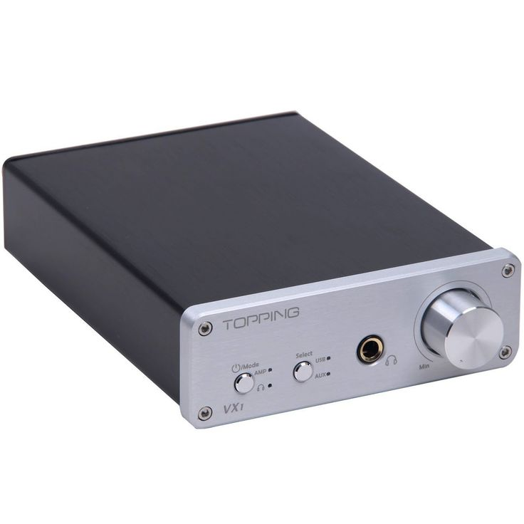 Topping VX1 2x25W Hi-Fi Power Stereo Subwoofer Amplifier 24bit/96kHz Digital USB DAC Headphone Amp - £90