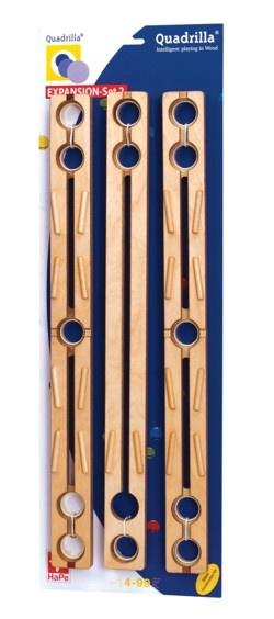 Quadrilla EXPANSION Set 2 (3 straight rails)