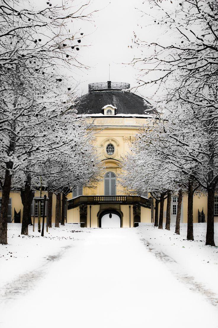 Schloss Solitude in #Stuttgart im Winter