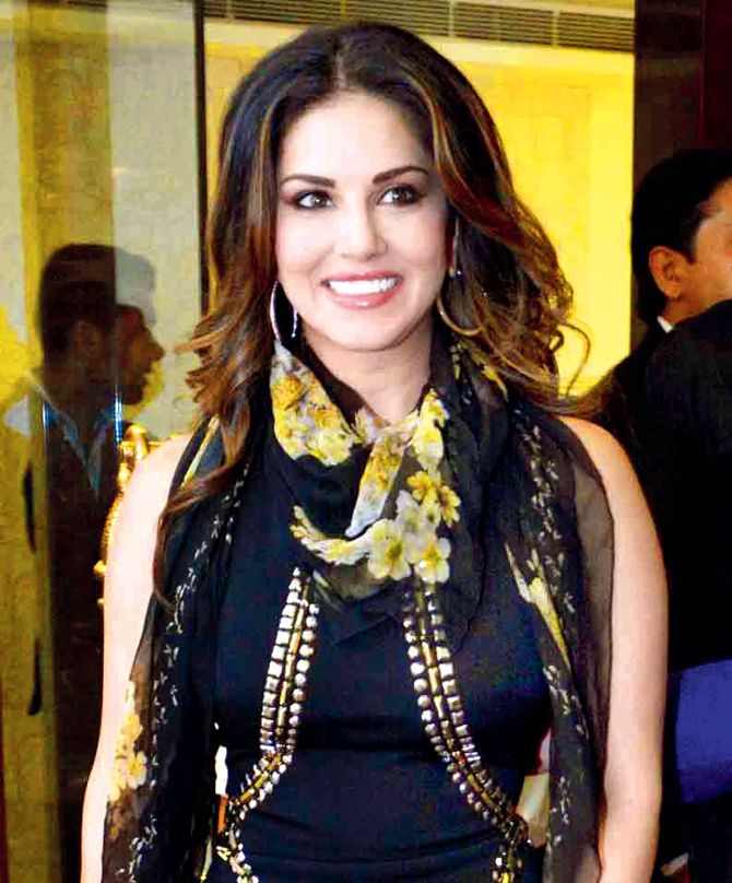 Sunny Leone at the launch of a limited edication of footwear in Mumbai. #Bollywood #Fashion #Style #Beauty