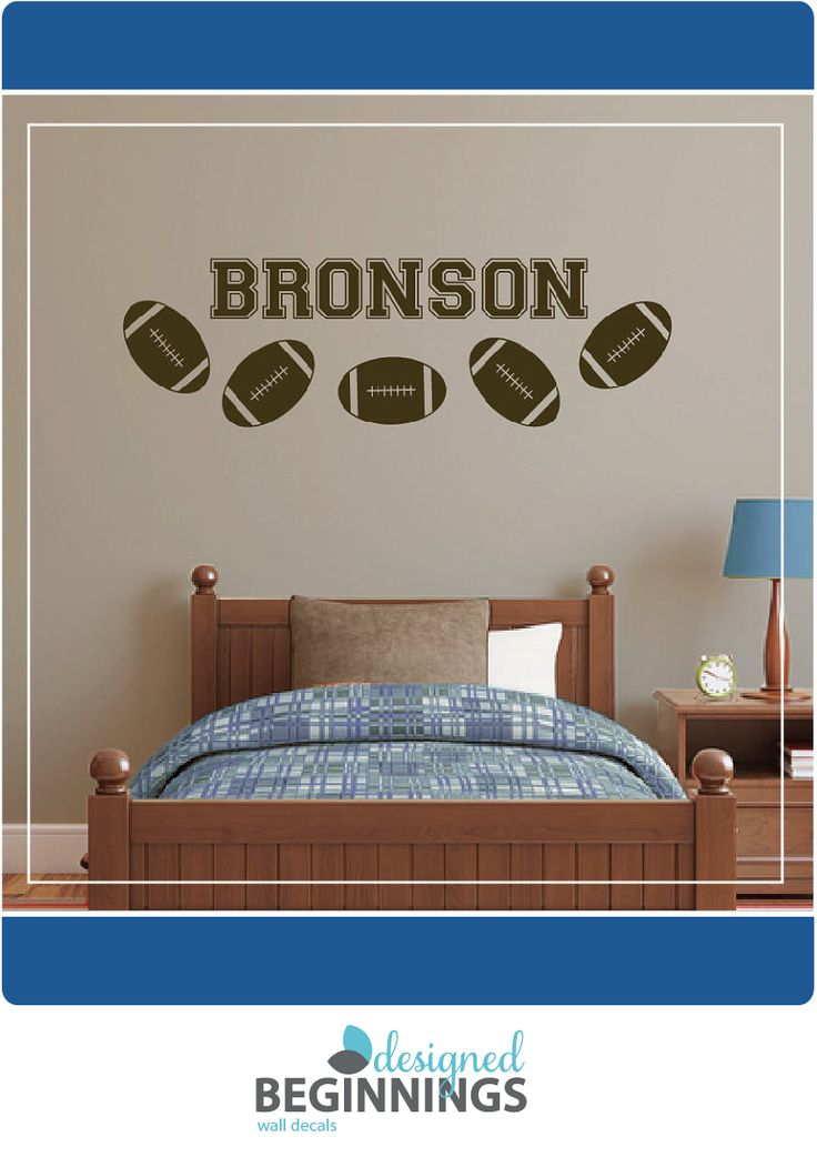 25 Best Ideas About Sports Themed Bedrooms On Pinterest