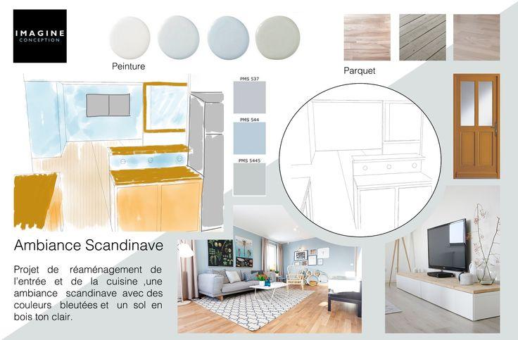 Planche tendance pour un projet d 39 architecture d 39 int rieur for Dessin architecture interieur