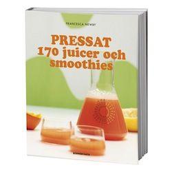 Pressat – 170 juicer & smoothies är den ultimata receptbanken för goda och nyttiga juicer och smoothies! Massor med inspiration för välsmakande, hälsosamma och nyttiga drycker!