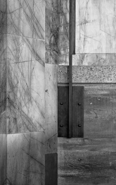 Getty Villa Stair Detail