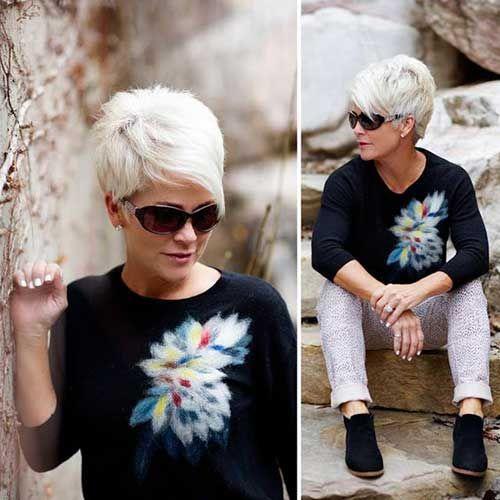 Blonde kurze Haare Ideen, die Sie sehen müssen