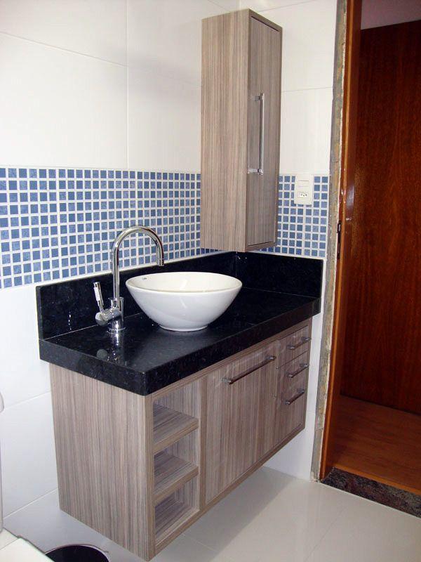 +1000 ideias sobre Gabinete Banheiro no Pinterest  Armário Com Porta Bascula -> Armario De Banheiro Mobly