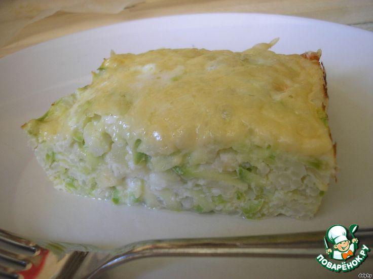 Запеканка из риса и кабачков ингредиенты