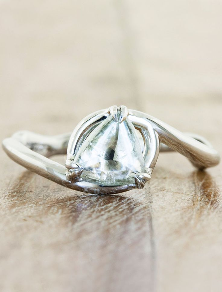 Knolly June 2014 | Ken & Dana Design. oh my god this looks like a harry potter ring!!!