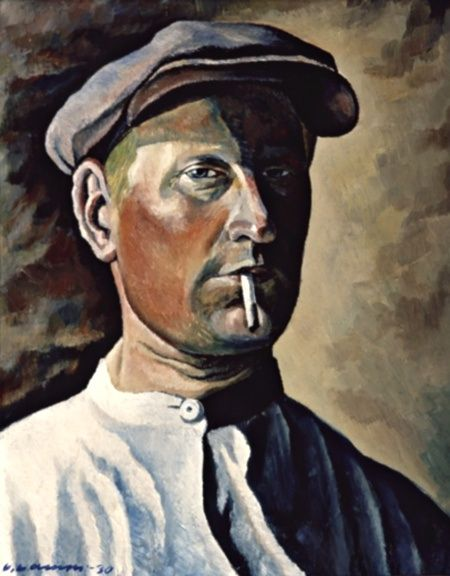 Vilho Lampi351/1172 Self-portrait (1930)