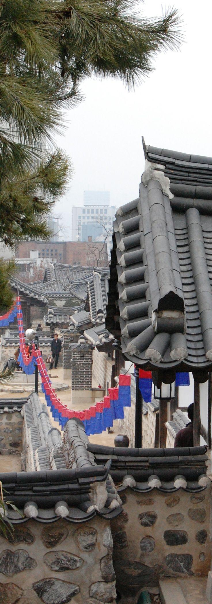 Namsan Hanok Village, Seoul, Korea