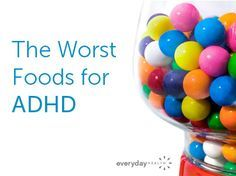 Certain foods make your child's ADHD symptoms worse. Here's what you need to know to create a better ADHD diet: http://www.everydayhealth.com/adhd-pictures/how-food-can-affect-your-childs-adhd-symptoms.aspx