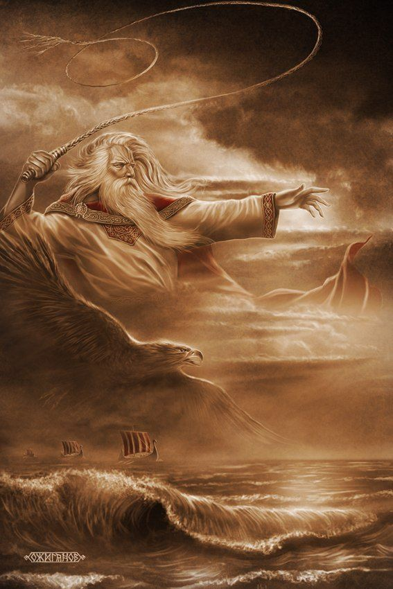 Slavic mythology by Igor Ozhiganov. God Stribog.  Stribog in the Slavic pantheon, is the god and spirit of the winds, sky and air; he is said to be the ancestor (grandfather) of the winds of the eight directions.