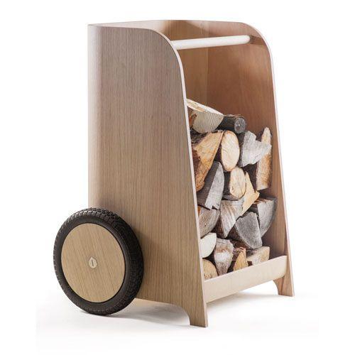WOODY WHEEL Holz-Sackkarre / Holzlege