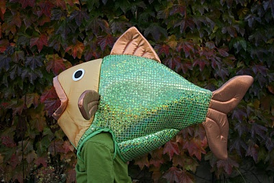 17 best images about little mermaid on pinterest for Fish head costume