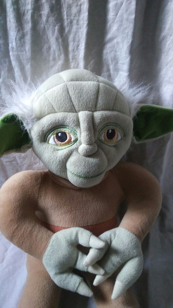 "Star Wars 18"" Plush Yoda Large Stuffed Animal 