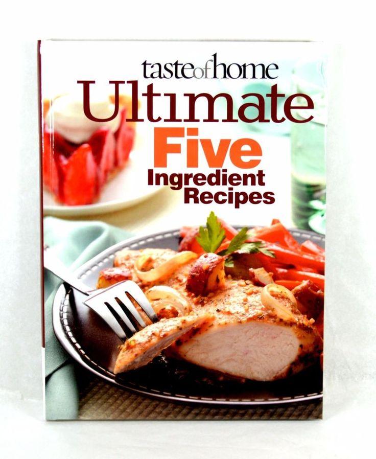 Taste Of Home Annual Recipes 2010 Cookbook Hardcover Like New #TasteofHome