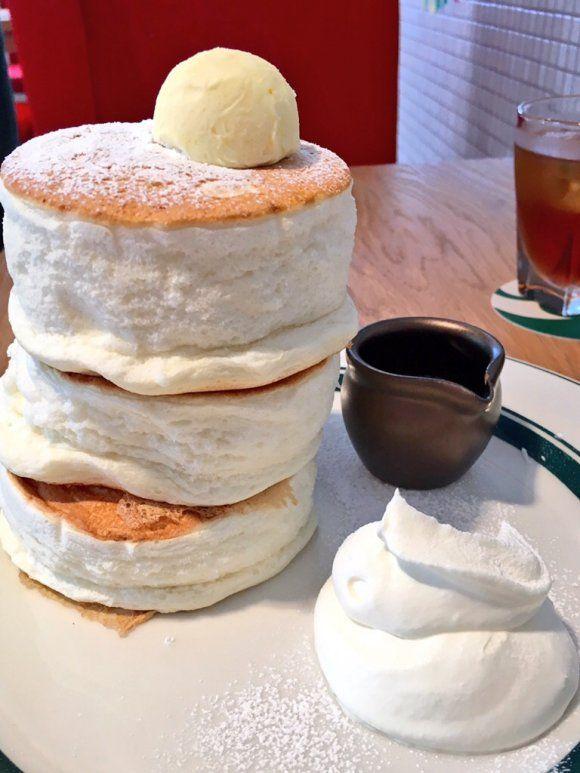 大阪で絶対に食べたい!極厚・ふわふわの激うまパンケーキ5選