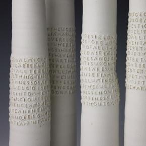 Rupert Spira - love text on clay