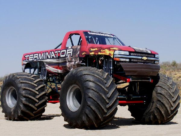monster truck wallpapers mighty trucks pinterest. Black Bedroom Furniture Sets. Home Design Ideas