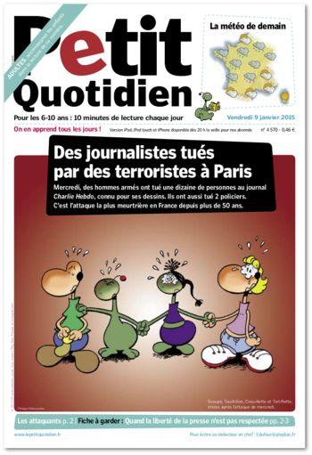 La liberté de la presse - le petit quotidien