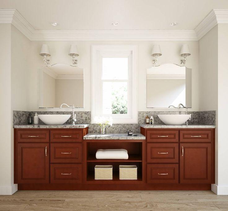 cherry ready to assemble bathroom vanities bathroom vanities